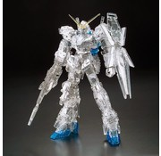 BANDAI MODEL KITS Unicorn Gundam Pleated & Clear Exclusive
