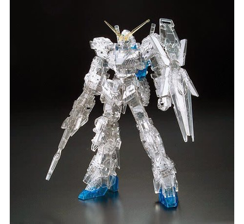 "BANDAI MODEL KITS 190966 Unicorn Gundam (Destroy Mode)Pleated & Clear Exclusive ""Gundam UC"", Bandai Hobby"