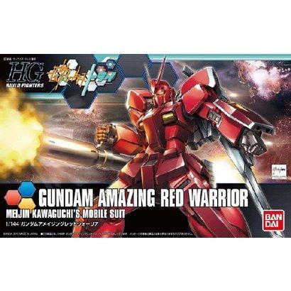 BANDAI MODEL KITS 194872 1/144 Build Fighters High Grade Series: #26 Gundam Amazing Red Warrior