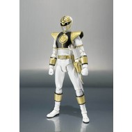 """Tamashii Nations White Ranger  """"Mighty Morphin Power Rangers"""""""