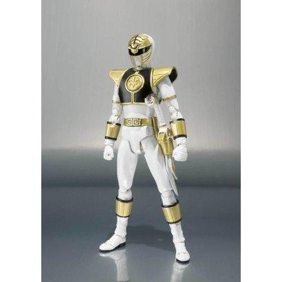 "Tamashii Nations BAS55284 White Ranger ""Mighty Morphin Power Rangers"", Bandai S.H.Figuarts"