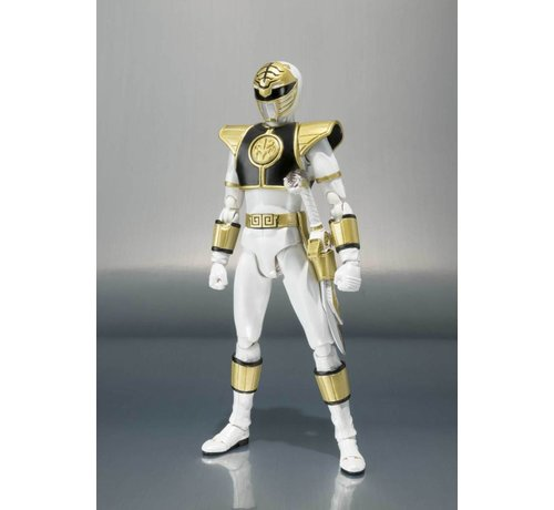 "Tamashii Nations BAS55284 White Ranger ""Mighty Morphin Power Rangers"", Bandai S.H.Figuarts"