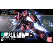 BANDAI MODEL KITS #212 Galbaldy Beta  HGUC