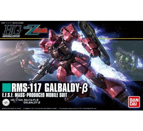 "BANDAI MODEL KITS 224024 #212 Galbaldy Beta ""Zeta Gundam"", Bandai HGUC 1/144"
