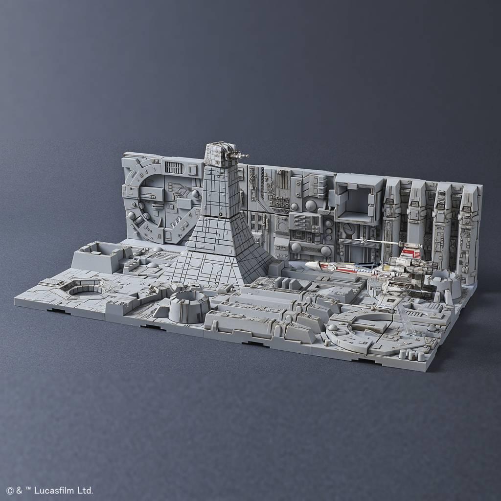 BANDAI MODEL KITS 230343 Death Star Attack Set