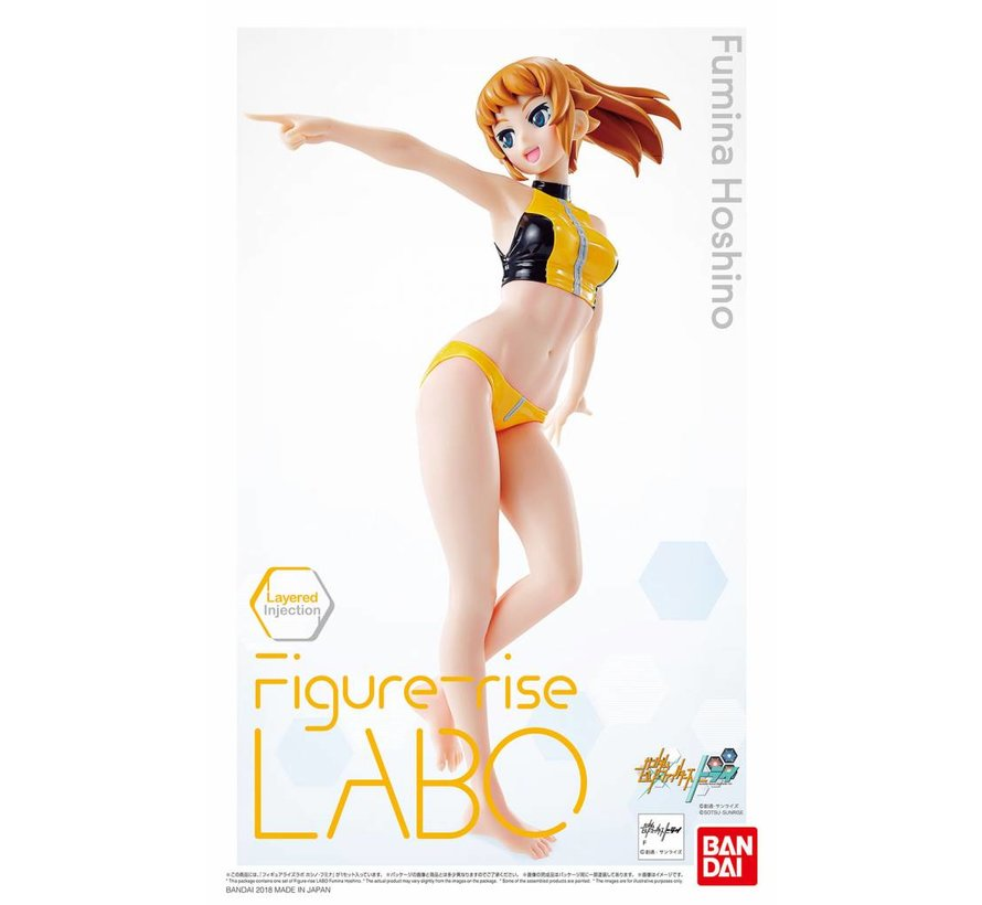 "225726 Fumina Hoshino ""Gundam Build Fighters Try,"" Bandai Figure-rise LABO"