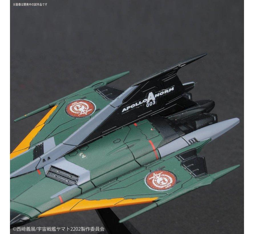 "228380 Type 99 Cosmo Falcon ""Yamato 2202"", Bandai Mecha Collection"