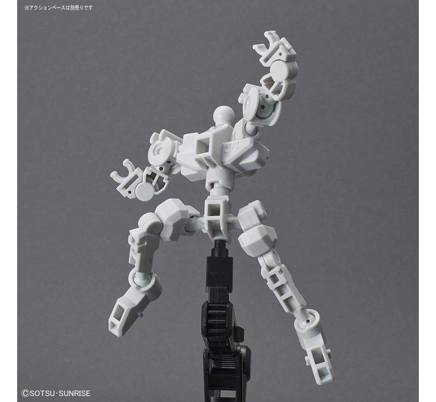 """225765 Cross Silhouette Frame (White) """"Mobile Suit Gundam"""", Bandai SDGC S"""