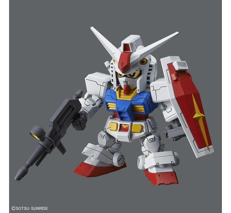 "228381 RX-78-2 Gundam & Cross Silhouette Frame ""Mobile Suit Gundam"", Bandai SDGCS"