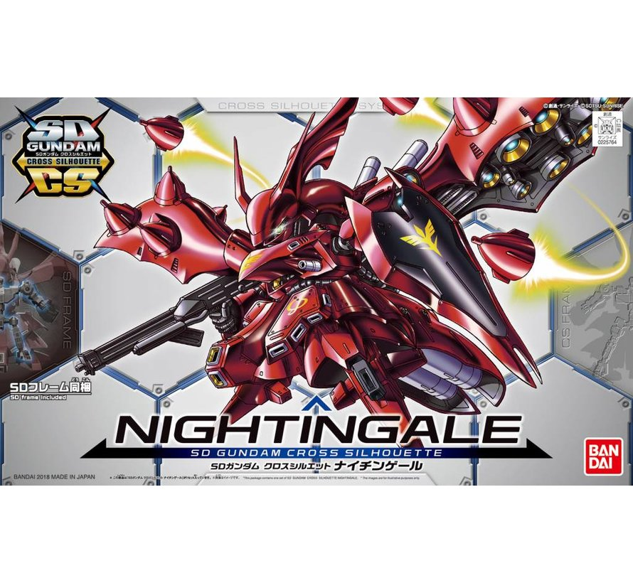 "225764 #3 Nightingale ""Char's Counterattack"", Bandai SDGCS"