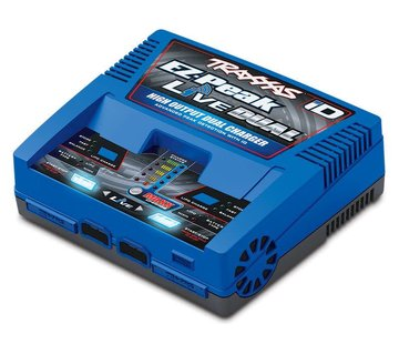 Traxxas (TRA) Dual Charger  EZ-Peak Live 200W with iD