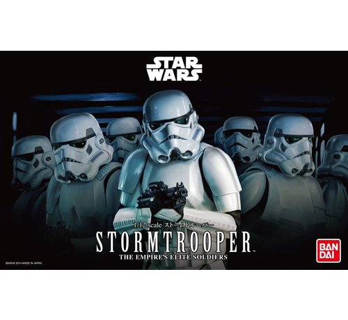 "Bandai 2439792  Stormtrooper ""Star Wars"", Bandai Star Wars Character Line 1/12"