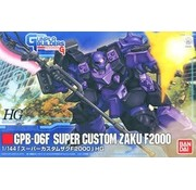 BANDAI MODEL KITS #3 Super Custom Zaku F2000