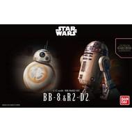 BANDAI MODEL KITS 1/12 BB-8 & R2-D2