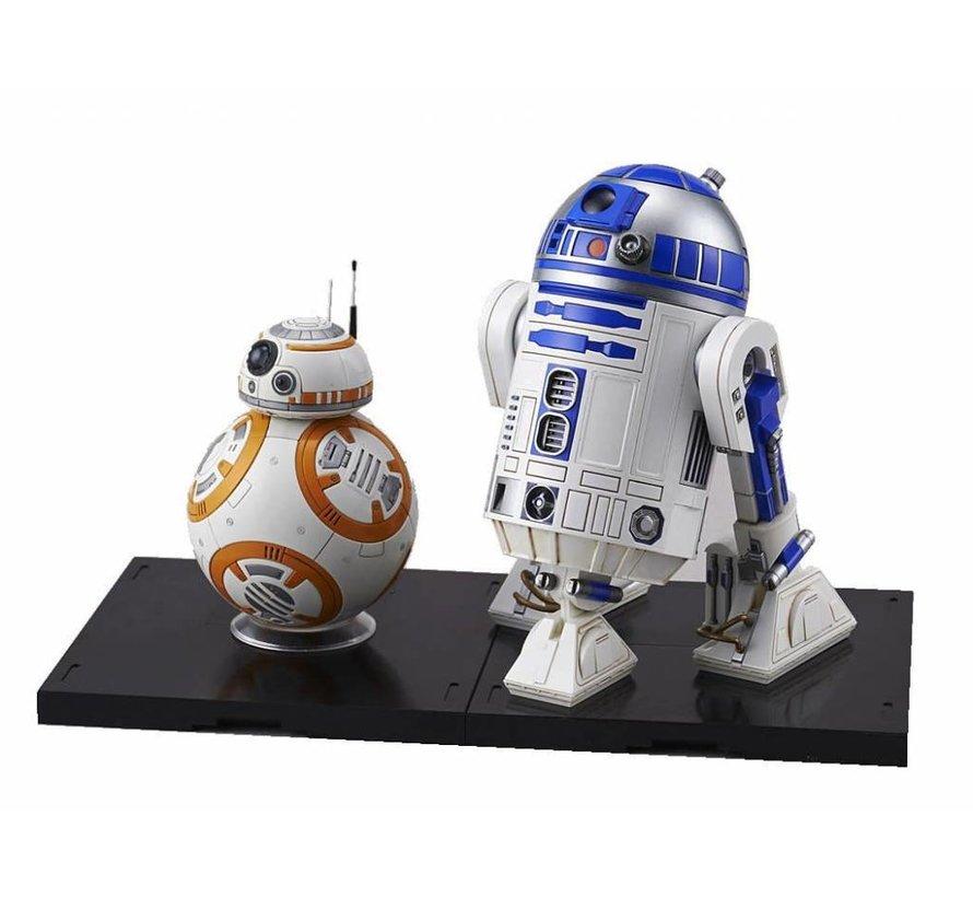 "203220 BB-8 & R2-D2 ""Star Wars"", Bandai Star Wars Character Line 1/12"