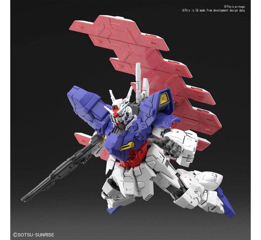 "5055332 #215 AMS123X-X Moon Gundam ""Moon Gundam"", Bandai HGUC 1/144"