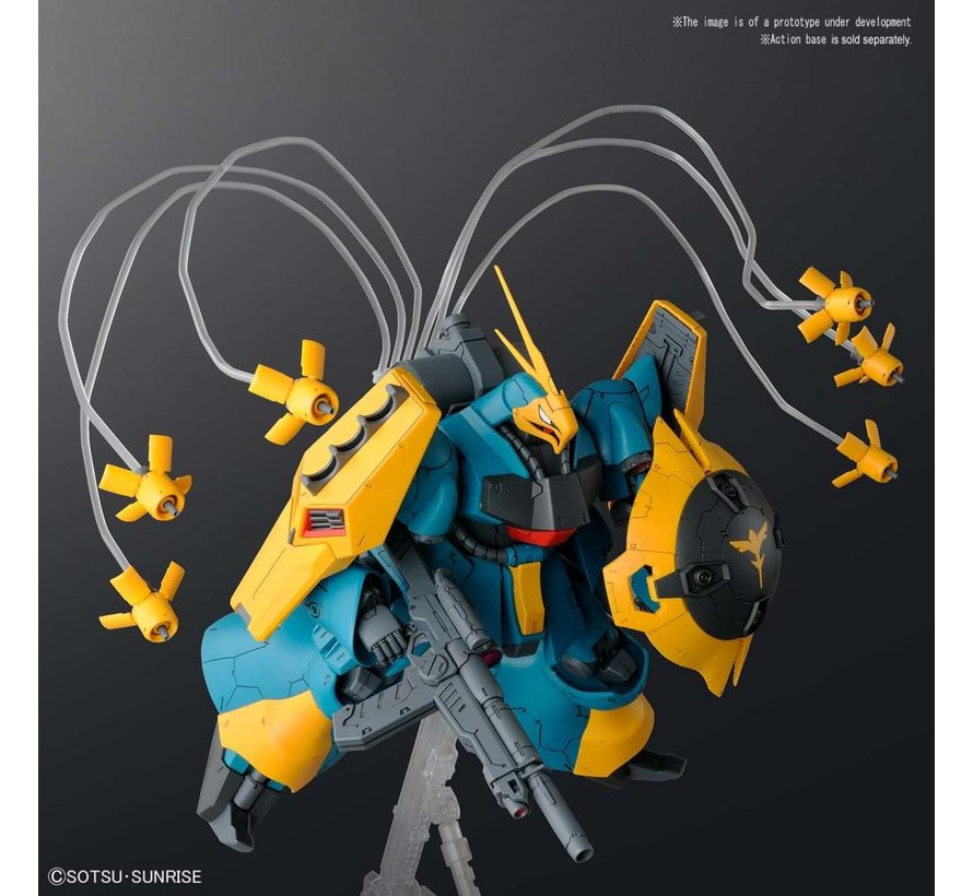 """5055331 #10 MSN03 Gyunei Guss' Jagd Doga """"Char's Counterattack"""", Bandai RE/100"""