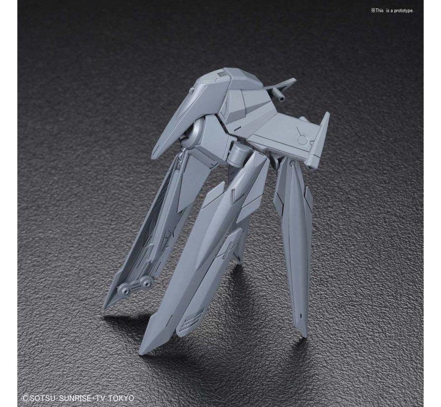 "5055312 #45 No-Name Rifle ""Build Divers"", Bandai HGBC"