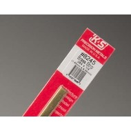 K+S - K & S Engineering 370- Brass Strips 12  . 064 X 1/4