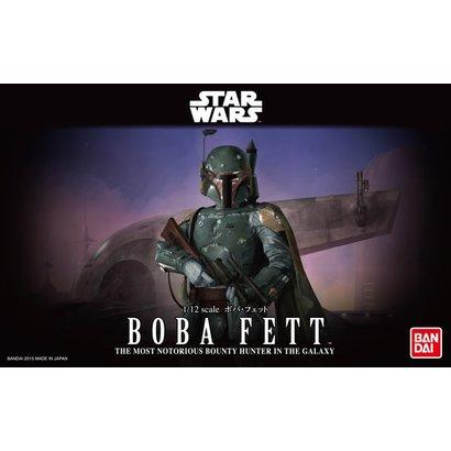 BANDAI MODEL KITS 1/12 BOBA FETT Star Wars Bandai Plastic Model action figure Kit