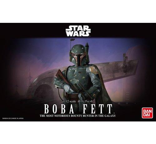 Bandai 1/12 BOBA FETT Star Wars Bandai Plastic Model action figure Kit