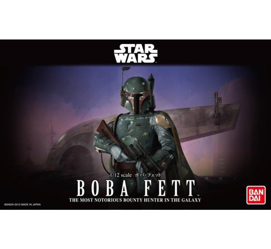 1/12 BOBA FETT Star Wars Bandai Plastic Model action figure Kit