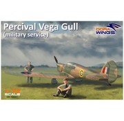 Dora Wings - DWN 1/72 Percival Vega Gull (Military Service)