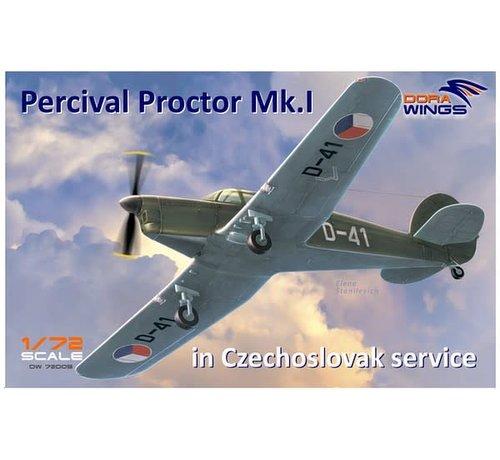 Dora Wings - DWN 72003 Dora Wings 1/72 Percival Proctor Mk I Czech Service Communication Aircraft
