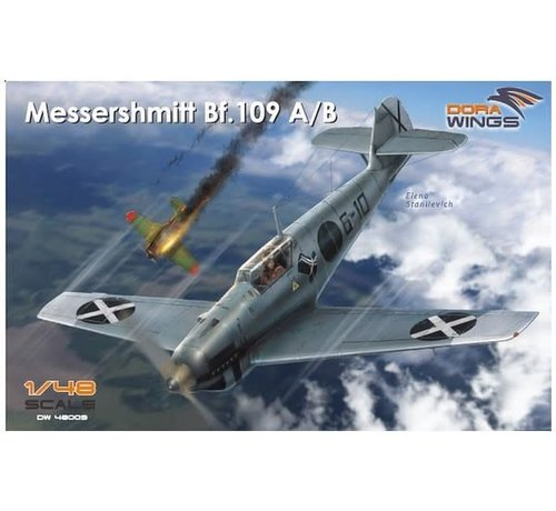 Dora Wings - DWN 48009 Dora Wings 1/48 Messershmitt Bf.109 A/B Legion Condor