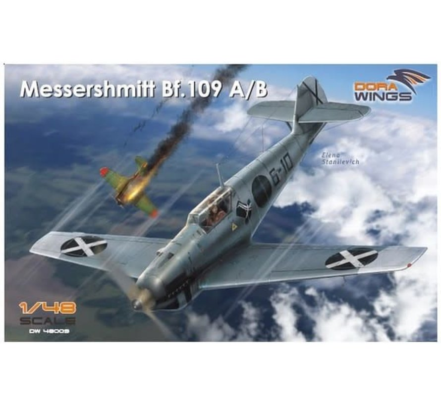 48009 Dora Wings 1/48 Messershmitt Bf.109 A/B Legion Condor