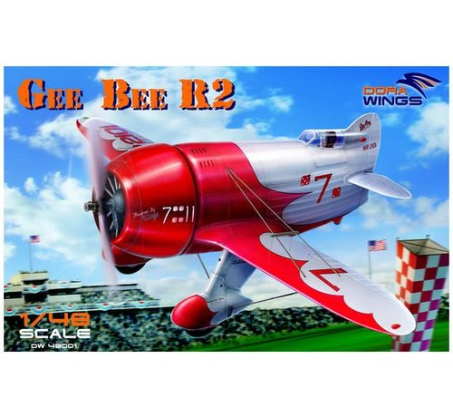 Dora Wings - DWN 48001 Dora Wings 1/48 Gee Bee R-2 Super Sportster Aircraft