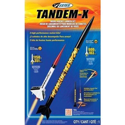 EST - Estes 1469 Tandem-X Launch Set E2X Easy-to-Assemble/Skill L1 Model Rocket