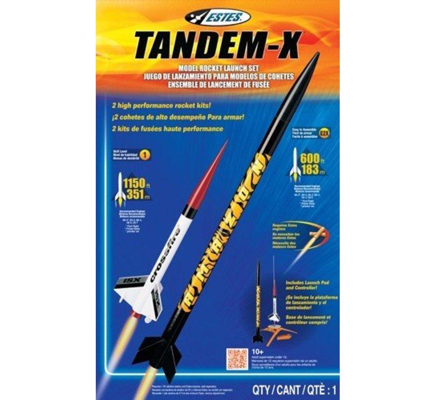 1469 Tandem-X Launch Set E2X Easy-to-Assemble/Skill L1 Model Rocket