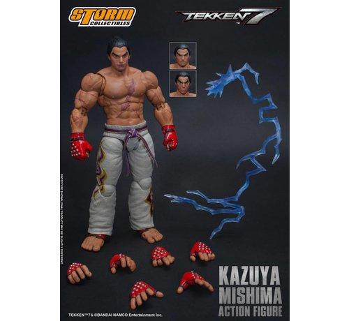 "Storm Collectibles 87077 Kazuya Mishima ""Tekken 7"", Storm Collectibles 1/12 Action Figure"