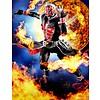 """Tamashii Nations 55107 Kamen Rider Wizard Flame Style """"Kamen Rider Wizard"""", Bandai S.H.Figuarts (Shinkocchou Seihou)"""