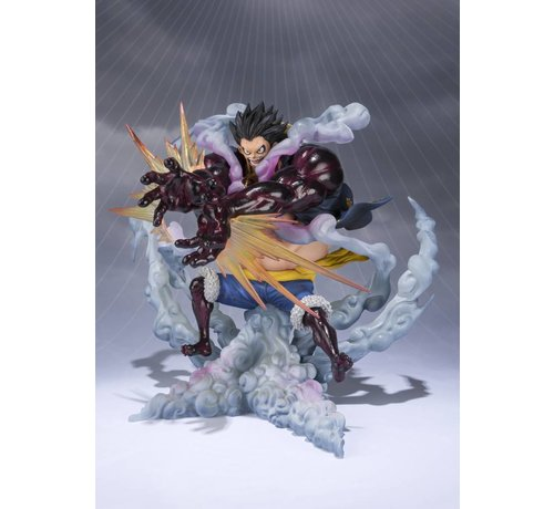 "Tamashii Nations 55114 Monkey D. Luffy -Gear 4 Leo Bazooka- ""One Piece"", Bandai FiguartsZERO"