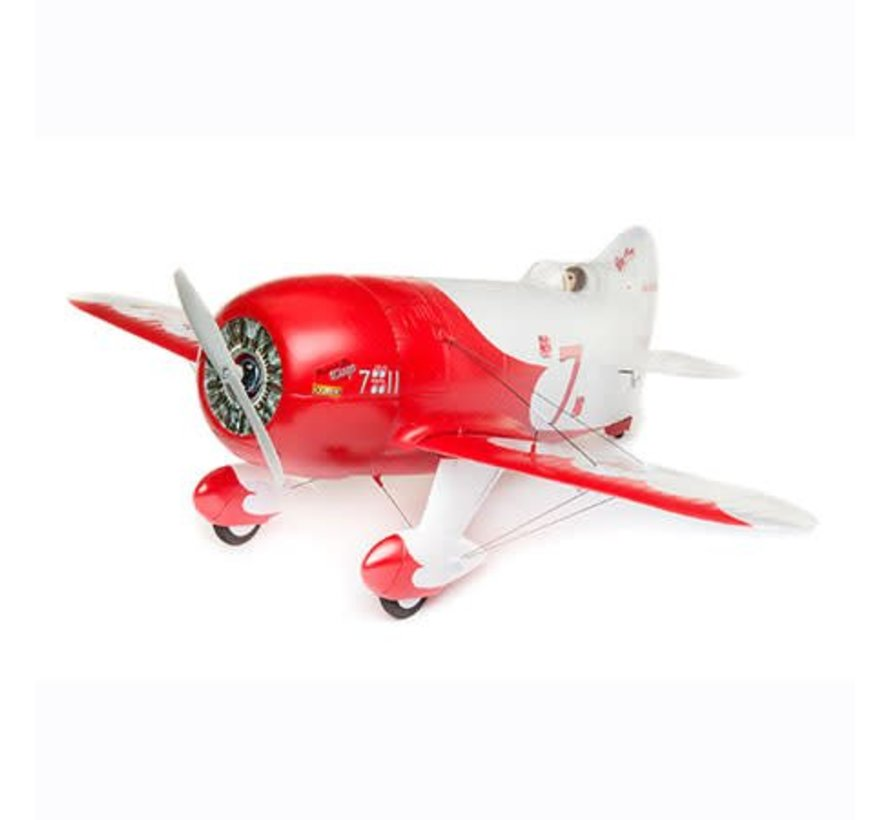 U6150 UMX Gee Bee RC model airplane with AS3X and Safe Select