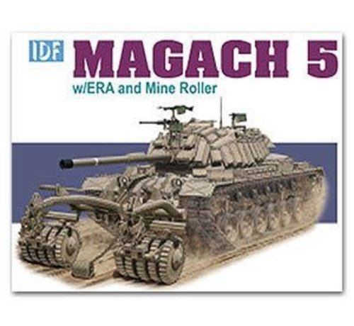 DML - Dragon Models 3618 DML/Dragon Models IDF Magach 5 w/ ERA and Mine Roller