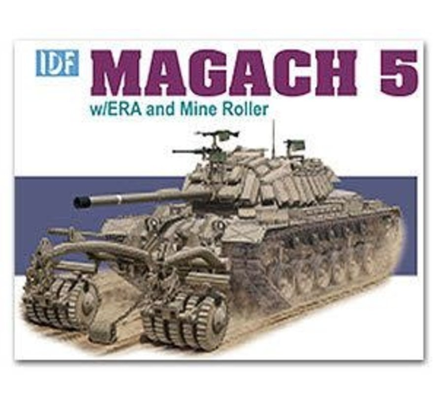 3618 DML/Dragon Models IDF Magach 5 w/ ERA and Mine Roller