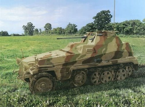 Dragon Models (DML) (SO) 6882 DML/Dragon Models Sd.Kfz.250/9 Ausf A Halftrack w/2cm leSPW Gun