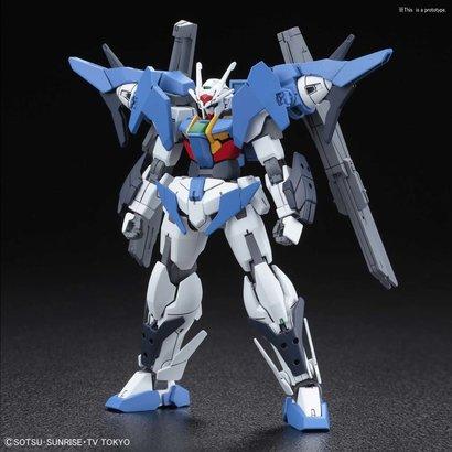 """BANDAI MODEL KITS 230451 #014 Gundam 00 Sky """"Gundam Build Divers"""", Bandai HGBD 1/144"""