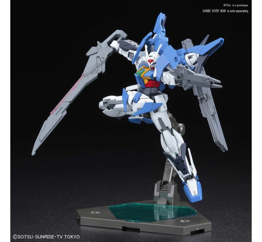 "230451 #014 Gundam 00 Sky ""Gundam Build Divers"", Bandai HGBD 1/144"