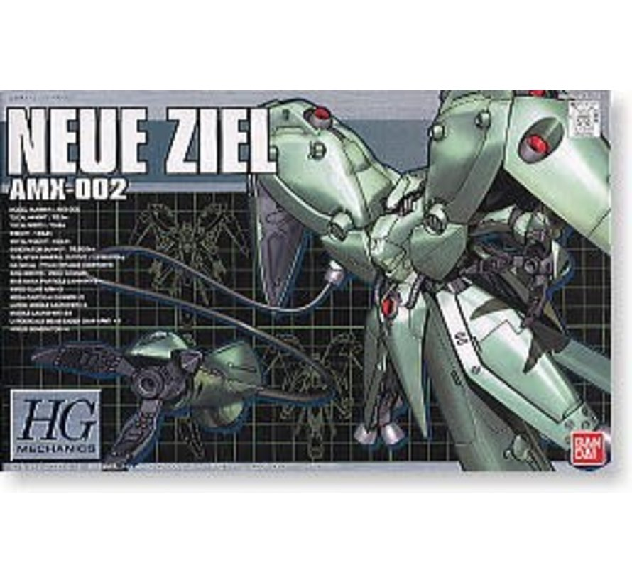 "107719: #2 AMX-002 (AMX-X2) NEUE ZIEL ""Gundam 0083"", Bandai HGM 1/550"