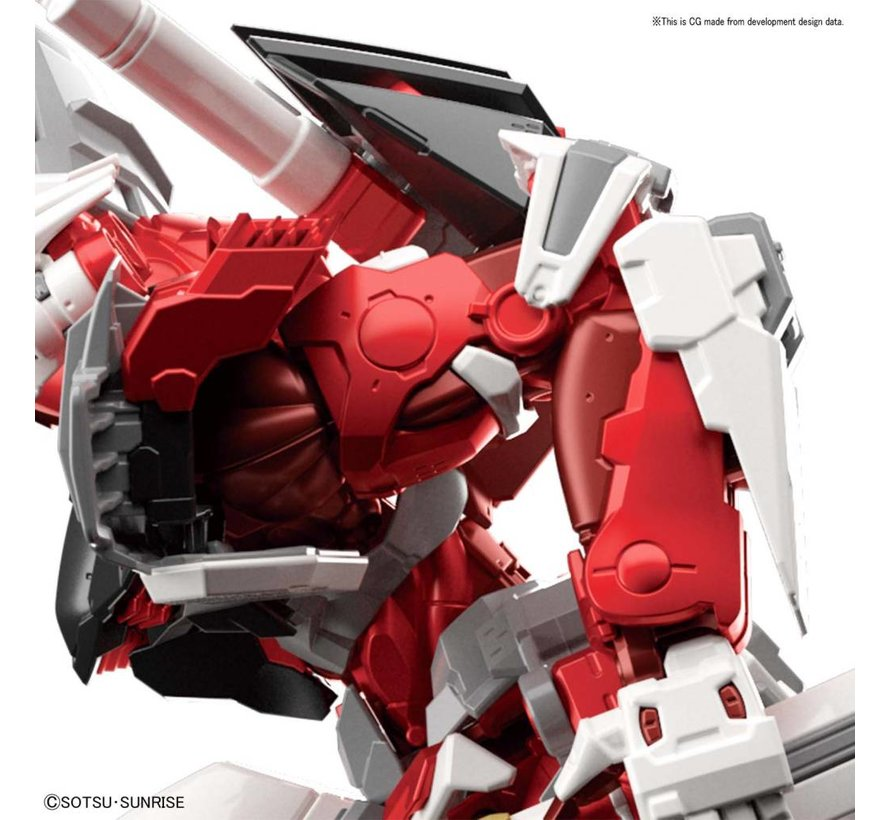 "Gundam Astray Red frame ""Gundam Astray"", Bandai Hi-Resolution Model 1/100"