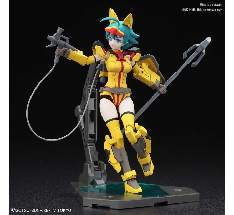 "5055333 Diver Nami ""Build Divers"", Bandai Figure-rise Standard"