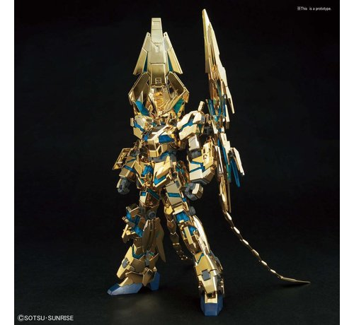 "BANDAI MODEL KITS 5055342 #216 Unicorn Gundam 03 Phenex (Destroy Mode) (Narrative Ver.)[Gold Coating] ""Gundam NT"" Bandai HGUC 1/144"