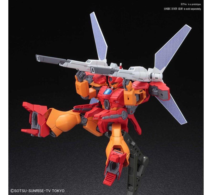 """5055327 #015 Jegan Blast Master """"Build Divers"""", Bandai HGBD 1/144"""