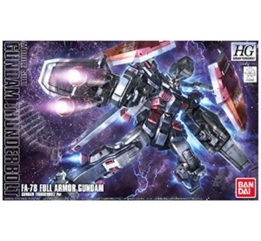 "207885  Full Armor Gundam (Thunderbolt Anime Color) ""Gundam Thunderbolt"", Bandai HG Thunderbolt"