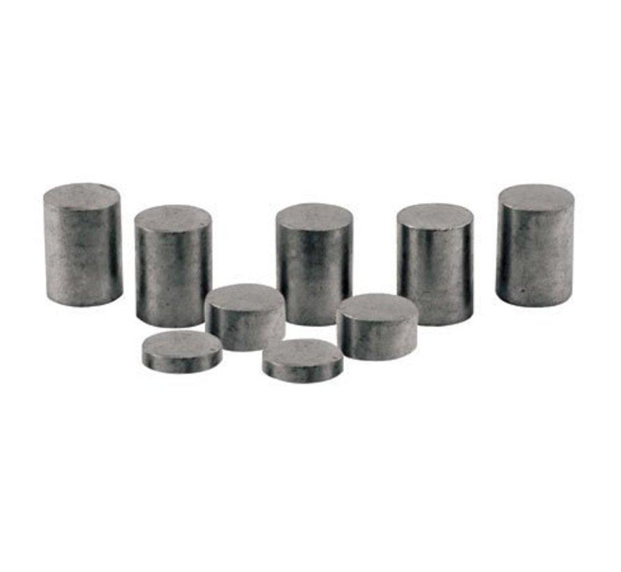 P3915 Tungsten Weights  3 oz Cylinder