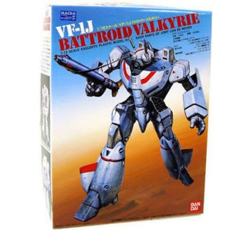 BANDAI MODEL KITS 1/72 VF-1J BATTROID VALKYRIE